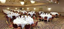 Red Lion Hotel banquet room
